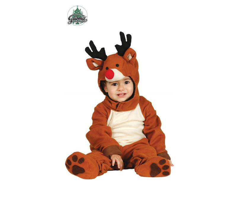 12-24 mesi Costume Per Bambini Natale Renna