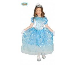 Costume Principessina Blu...