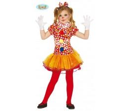 Costume Clown Arancione