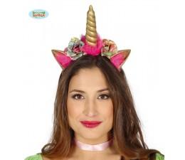 Cerchietto Oro Unicorno