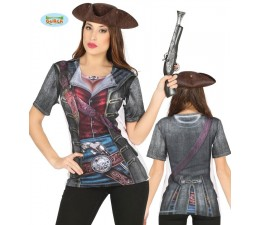 Camicia da Pirata Donna con...