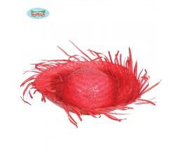 Cappello in Paglia Rosso