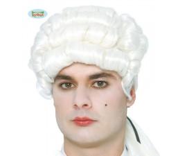 Parrucca Uomo Bianca D'Epoca
