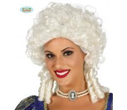 Parrucca Marchesa Bianca