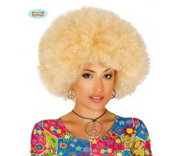 Parrucca Afro Biondo