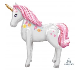 Palloncino Mylar Unicorno.