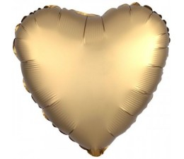 Palloncino Mylar Cuore Oro...