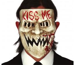 Maschera Kiss Me in PVC