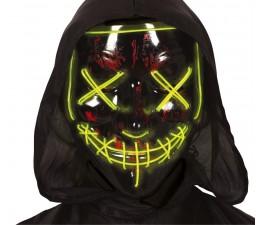 Maschera Nera con Luce in...