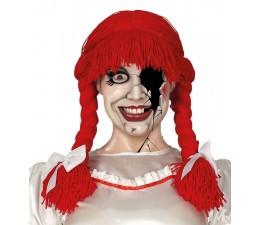 Parrucca Rossa con trecce...