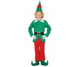 Vestito Elfo 5-6 anni