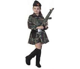 Costume  Soldatessa