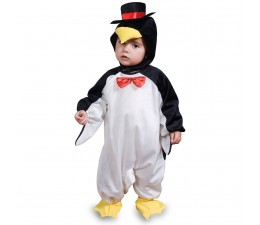 Costume Pinguino Baby 0-1 anno