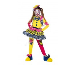 Costume Miss Clown Deluxe