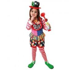 Costume Clown chica Pagliaccio