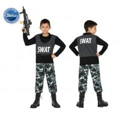 Costume Swat mimetico