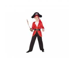 Costume Pirata rosso Bimbo