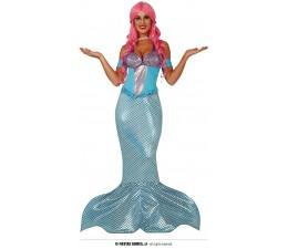 Costume Mermaid Sirena coda...