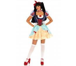 Costume Biancaneve Deluxe...