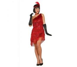 Costume Charleston Rosso...