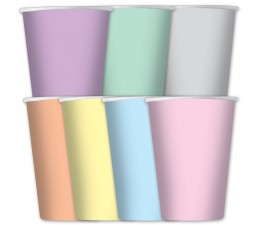 Bicchieri Colori Arcobaleno...