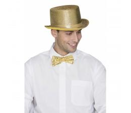 Cappello Cilindro Oro...
