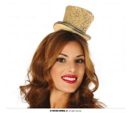Cappellino Mini Oro Glitter...