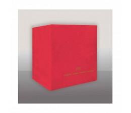 Tovagliolo Rosso Pz 100 Cm...