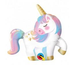 Palloncino Mylar Unicorno 35cm